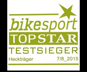 mft bikesport Testsieger Heckträger 7-8/2015
