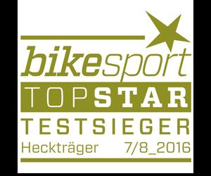 mft bikesport Testsieger Heckträger 7-8/2016