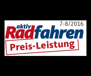 mft aktiv Radfahren Preis-Leistung 7-8/2016