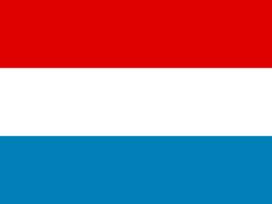 Flagge Luxemburg